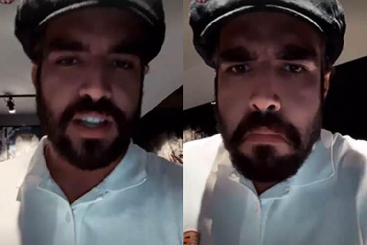 """Caio Castro sobre boatos de ser apresentador de 'A Fazenda': """"Não sei porquê inventaram isso"""""""