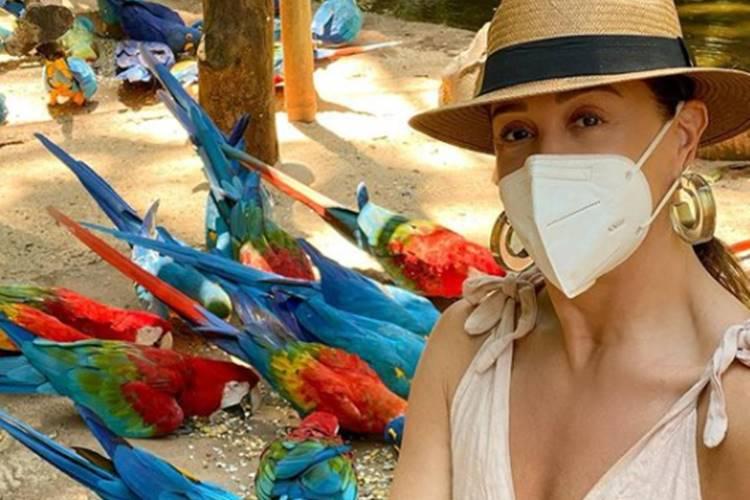 Parada desde a pandemia, Claudia Raia revela que planeja voltar aos palcos do teatro em breve - Foto: Reprodução/ Instagram