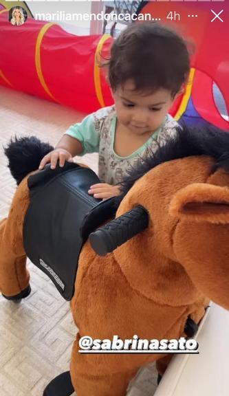 Sabrina Sato surpreende ao enviar presente especial para Léo, filho de Marília Mendonça - Foto: Reprodução/Instagram