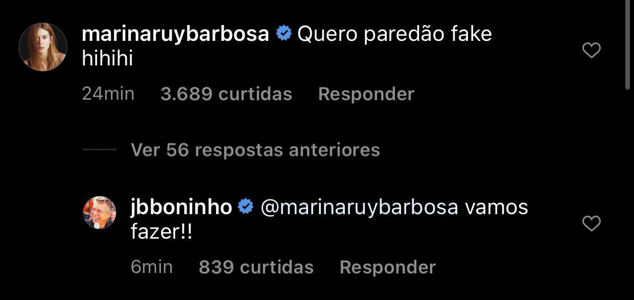 BBB 21: Boninho confirma que terá Paredão falso nesta edição - Foto: Reprodução/ Instagram