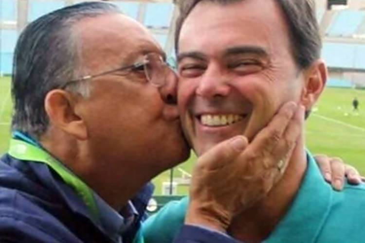 Após saída de Tino Marcos da Globo, Galvão Bueno homenageia amigo: ''O Pelé das reportagens'' - Foto: Reprodução/Instagram