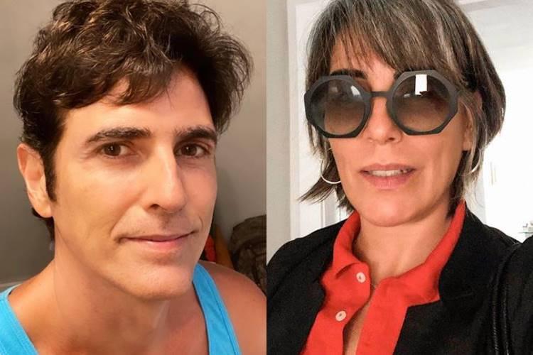Nas redes sociais, Reynaldo Gianecchini relembra gravações com Gloria Pires: ''Era uma aula constante'' - Foto: Reprodução/ Instagram/ Montagem Área VIP