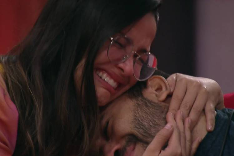 Gilberto e Juliette/ Reprodução Globo