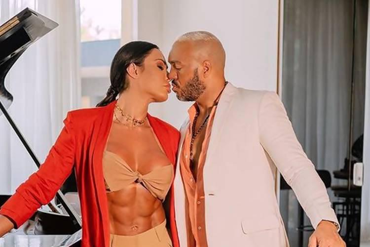 Após soltura de Belo, Gracyanne Barbosa comemora volta do marido para casa - Foto: Reprodução/ Instagram