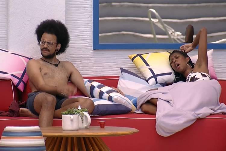 João Luiz e Camilla de Lucas/ Reprodução Globo