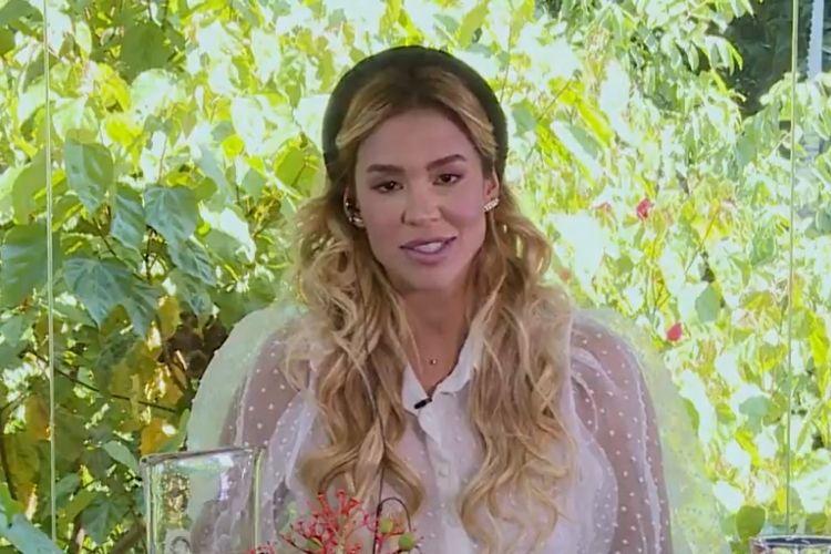 Kerline, a primeira eliminada do 'BBB 21', no 'Mais Você' - Reprodução: Globo