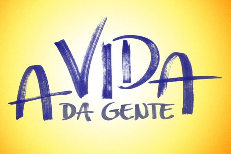 Logo - A Vida da Gente/TV Globo