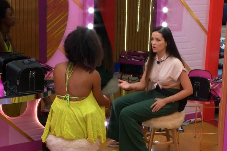 Lumena e Juliette/ Reprodução Globo