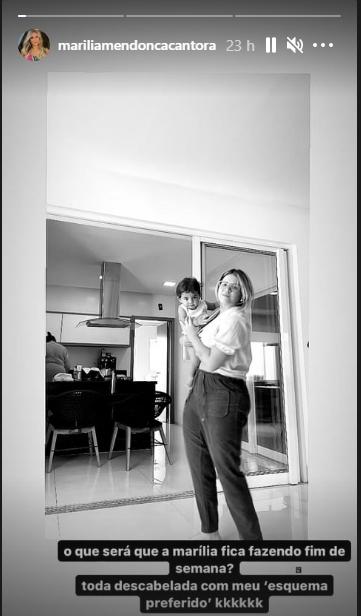 Marilia Mendonça reprodução Instagram Stories