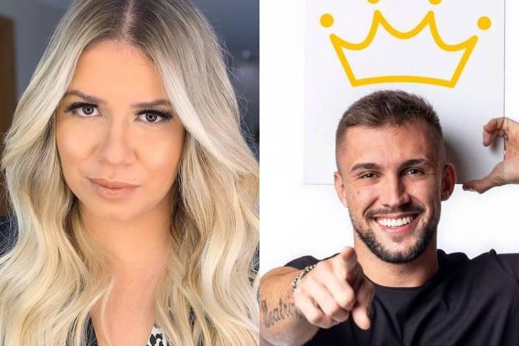 BBB21: Marília Mendonça opina sobre reinado de Arthur - ''Arrogante'' - Foto: Reprodução/ Instagram e Rede Globo/ Montagem Área VIP