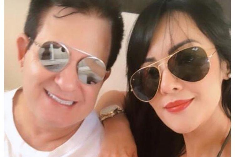 Marrone e a namorada - Reprodução: Leo Dias