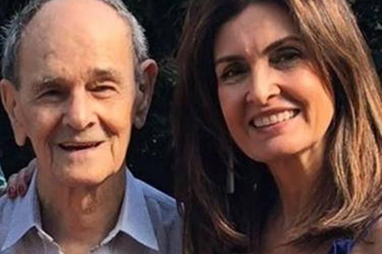 Aos 84 anos de idade, pai de Fátima Bernardes é vacinado e apresentadora vibra: ''Animação'' - Foto: Reprodução/ Instagram