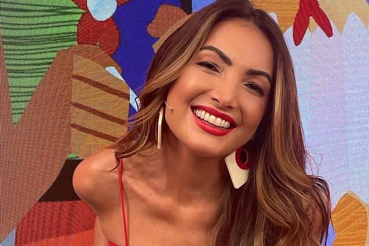 Após duas semanas no lugar de Fátima Bernardes, Patrícia Poeta se despede do programa ''Encontro'', na Globo - Foto: Reprodução/ Rede Globo