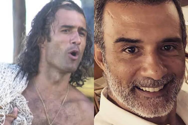 Marcos Pasquim relembra personagem vivenciado na novela ''Kubanacan'' - Foto: Reprodução/ Rede Globo e Instagram/ Montagem Área VIP