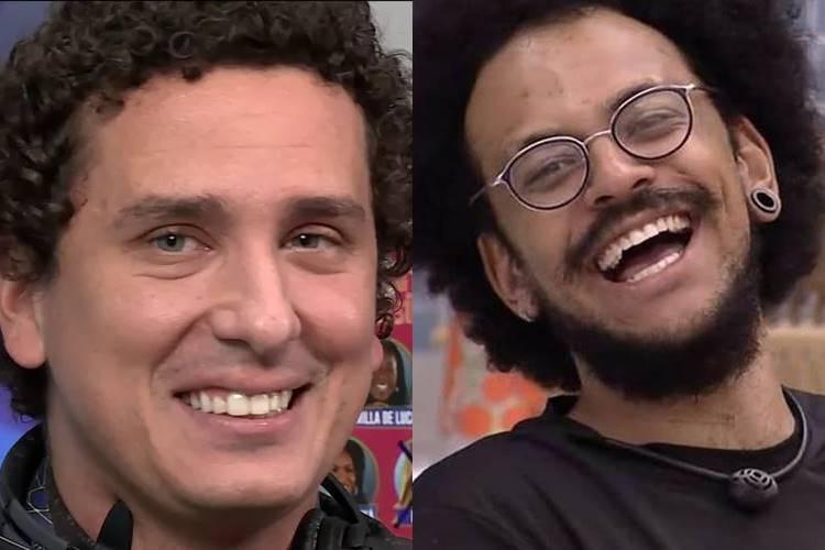 BBB 21: Rafael Portugal comenta liderança de João Luiz e diverte seguidores - ''Planta faz isso?'' - Foto: Reprodução/ Rede Globo/ Montagem Área VIP