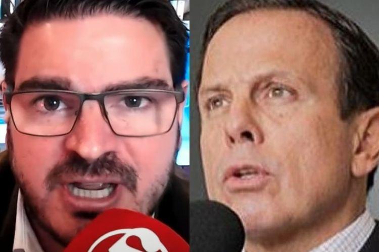 Rodrigo Constantino e João Doria - Reprodução: YouTube