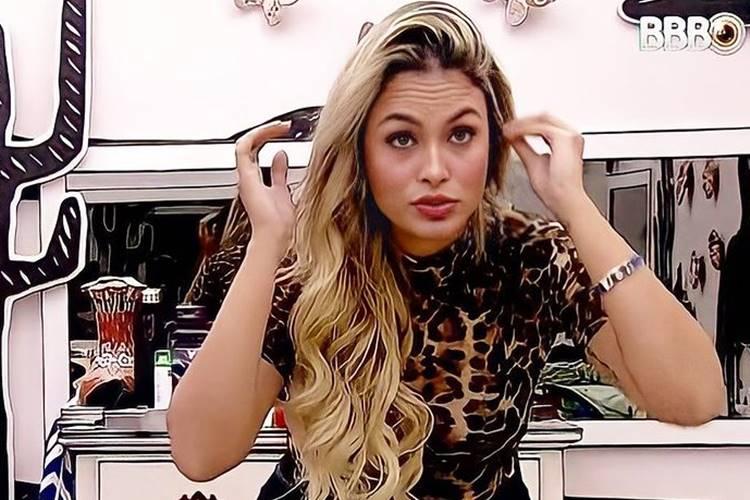 BBB 21: Em conversa sobre ''Big Fone'', Sarah diz que não irá atender - ''Estou bem de boa'' - Foto: Reprodução/ Rede Globo