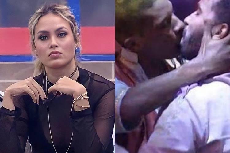 BBB 21: Sarah causa polêmica ao voltar a questionar beijo de Gil e Lucas Penteado - Foto: Reprodução/ Rede Globo/ Montagem Área VIP