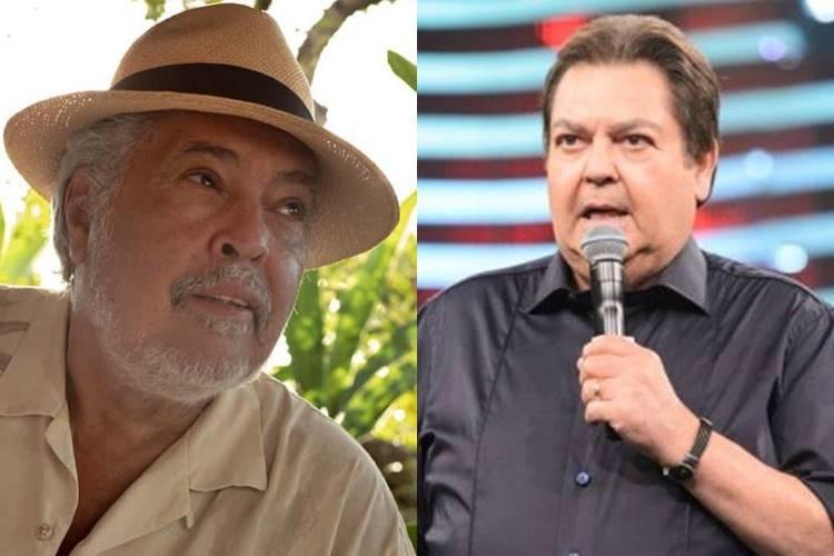 Durante live, Sidney Magal surpreende ao mandar Faustão ''calar a boca'' - Foto: Reprodução/ Instagram e Rede Globo/ Montagem Área VIP
