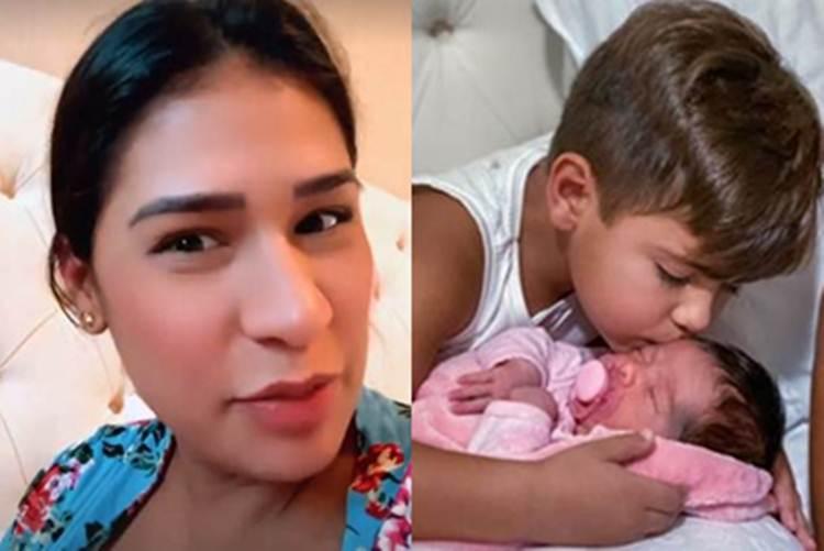 Simone Mendes e filhos - Instagram