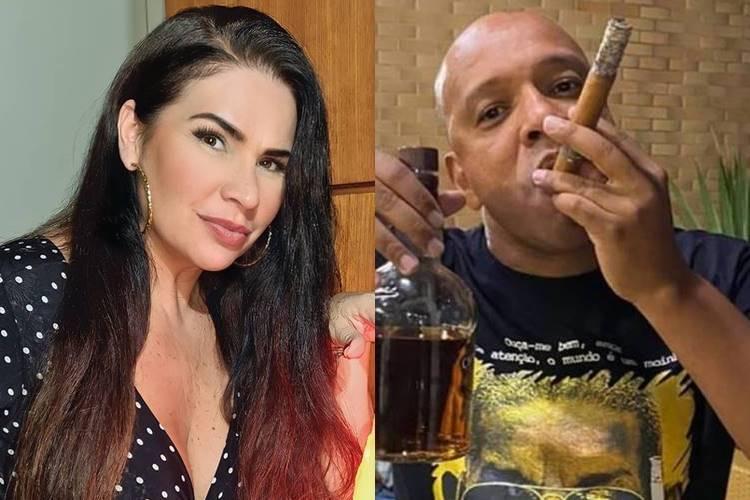 """Solange Gomes denuncia assédio de Anderson Leonardo, vocalista do """"Molejo"""", durante programa de TV"""