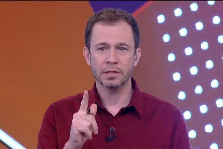 Tiago Leifert - Reprodução: TV Globo