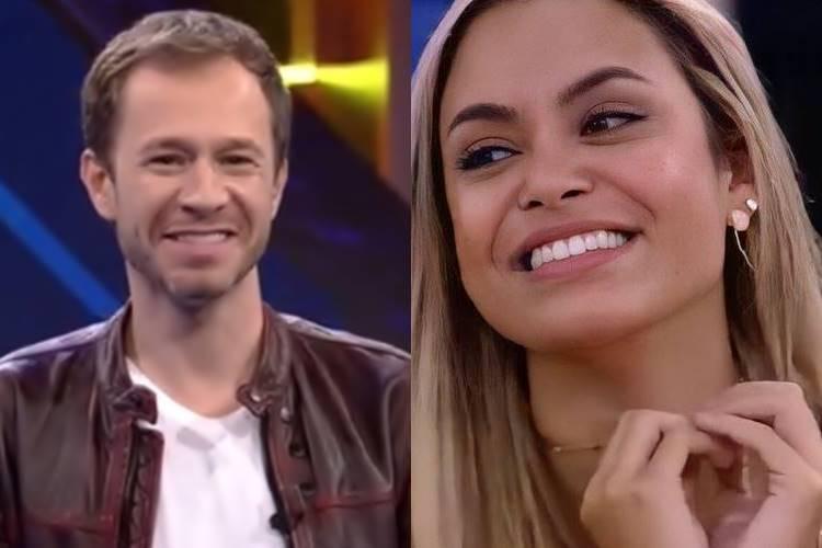 BBB 21: Ao vivo, Tiago Leifert elogia Sarah - ''Uma das melhores jogadoras que já vi'' - Foto: Reprodução/ Rede Globo/ Montagem Área VIP