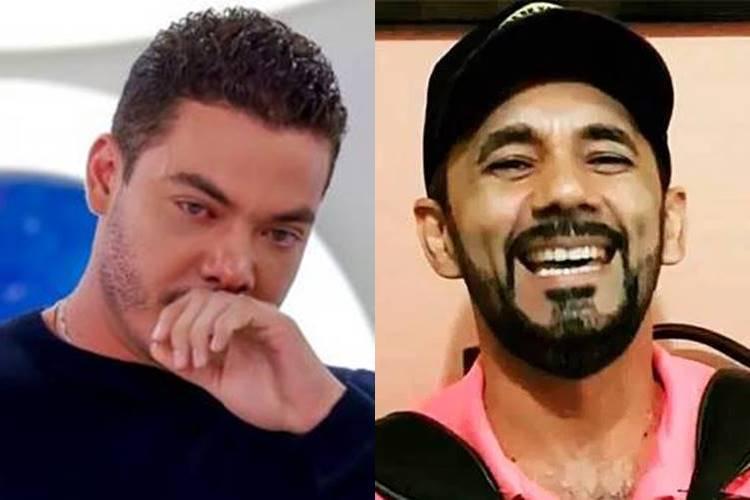 Compositor registra boletim de ocorrência contra Wesley Safadão - Foto: Reprodução/SBT e YouTube/Montagem Área VIP