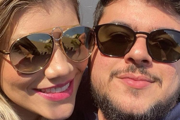 Paula Vaccari e Cristiano (Reprodução/Instagram)