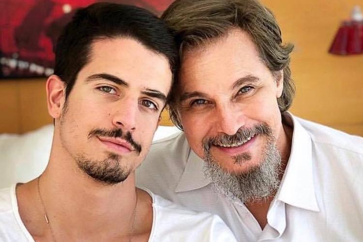 "Enzo parabeniza o pai, Edson Celulari, por aniversário: ""Te admiro profundamente"""