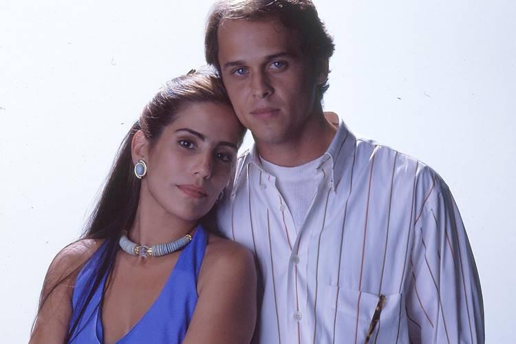 Mulheres de Areia - Ruth e Marcos (TV Globo/CEDOC)