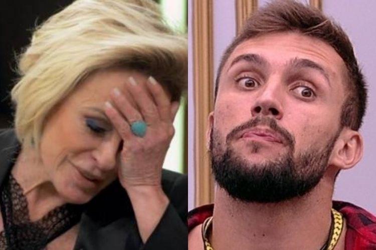 Ana Maria Braga e Arthur - Reprodução: TV Globo