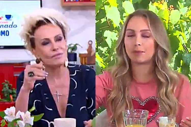 Ana Maria Braga e Carla Diaz - Reprodução: TV Globo