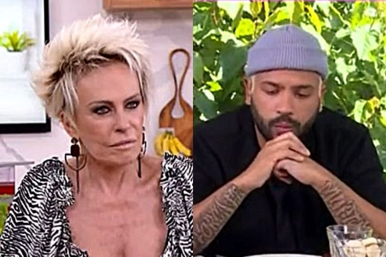 Ana Maria Braga e Projota - Reprodução: TV Globo