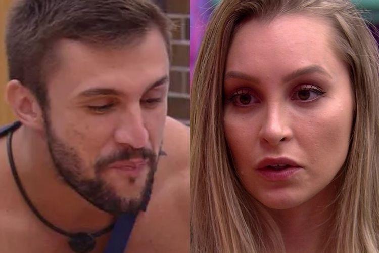 Arthur e Carla Diaz - Reprodução: TV Globo