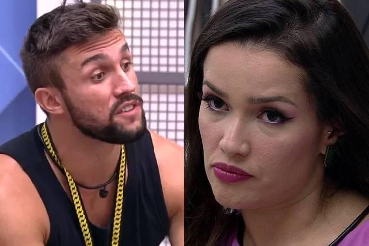 BBB21: Após briga com Juliette, Arthur detona sister - ''Estou de saco cheio dessa garota'' - Foto: Reprodução/ Rede Globo/ Montagem Área VIP