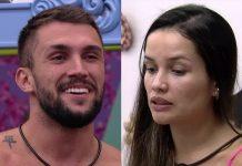 Arthur e Juliette - Reprodução: TV Globo