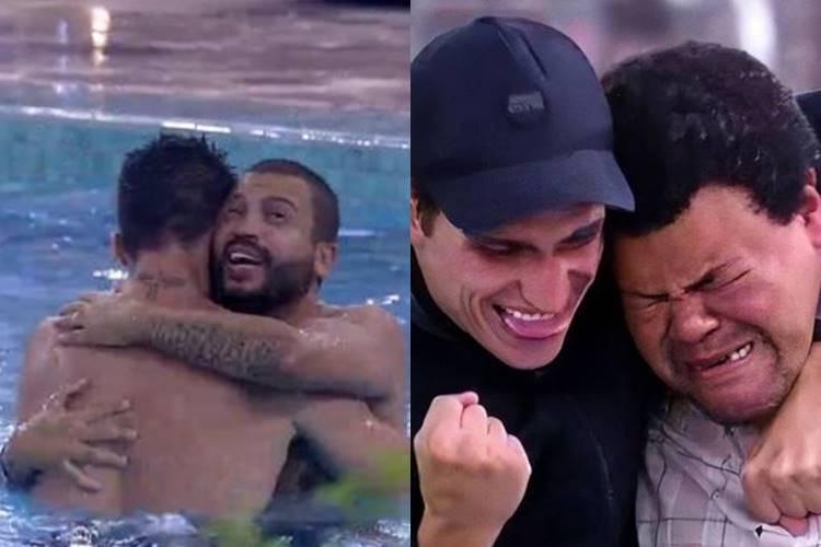 BBB 21: Prior comenta parceria entre Projota e Arthur - ''Está se inspirando em mim'' - Foto: Reprodução/ Rede Globo/ Montagem Área VIP