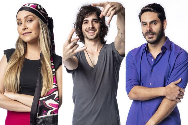 BBB21 - Carla - Fiuk - Rodolffo (Globo/Fábio Rocha)