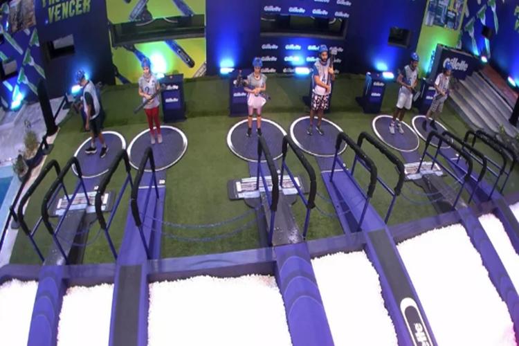 BBB21 começa prova do líder foto reprodução TV Globo