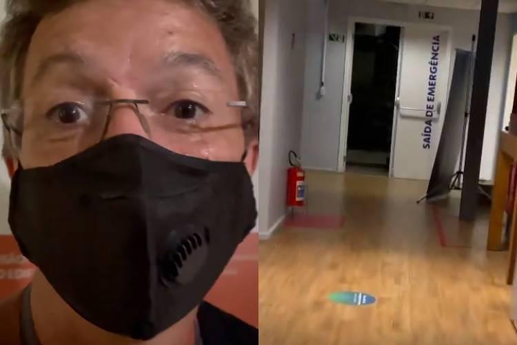 BBB21: Boninho mostra trajeto até o quarto secreto e explica porque é impossível brothers ouvirem ruídos externos; Veja Vídeo! - Foto: Reprodução/ Instagram/ Montagem Área VIP