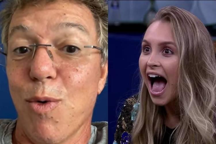 BBB21: Boninho volta a comentar sobre paredão falso - ''O próximo'' - Foto: Reprodução/ Rede Globo/ Montagem Área VIP