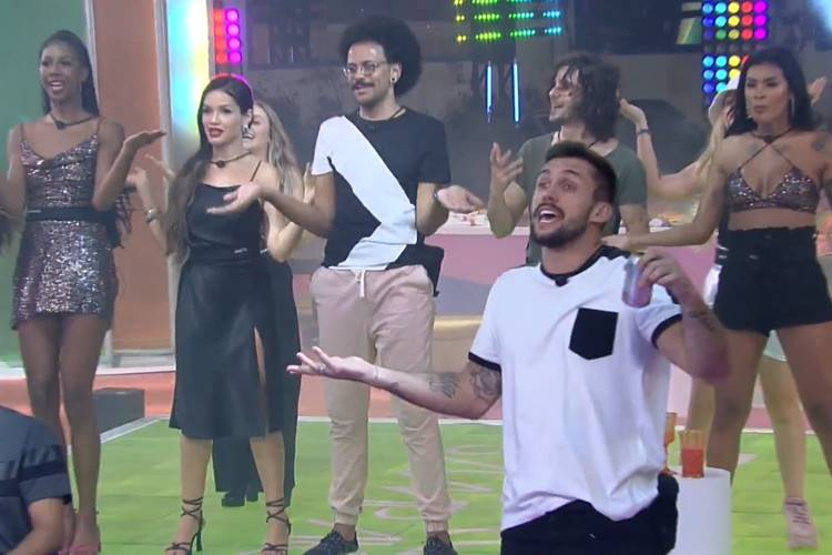 Brohters na festa/ Reprodução Globo