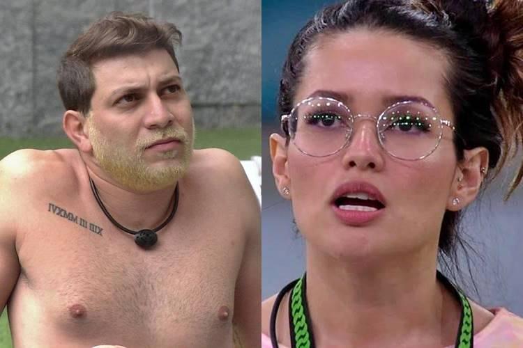 BBB21: Caio diz que Juliette não ganharia prova do líder e sister fica revoltada - Foto: Reprodução/Rede Globo/ Montagem Área VIP