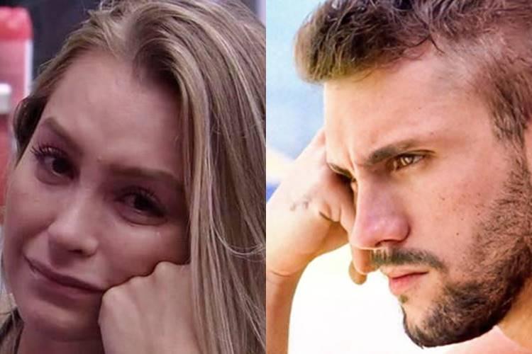 BBB21: Carla Diaz desabafa sobre sua relação com Arthur e diz que não aguenta mais ''mendigar'' carinho: ''Não sou saco de pancada'' - Foto: Reprodução/ Rede Globo/ Montagem Área VIP