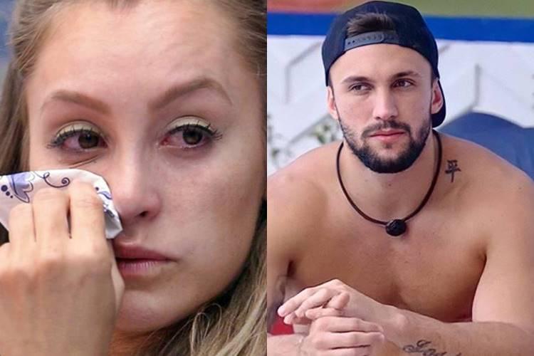 BBB21: Sobre Carla Diaz, Arthur avisa - ''Agente é inimigo no jogo agora'' - Foto: Rede Globo/ Montagem Área VIP