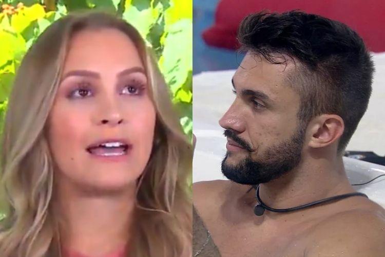 Carla Diaz e Arthur - Reprodução: TV Globo