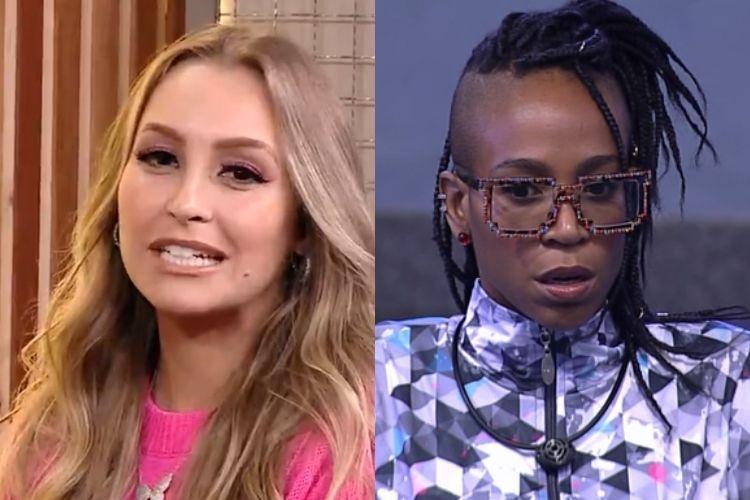 Carla Diaz e Karol Conká - Reprodução: TV Globo