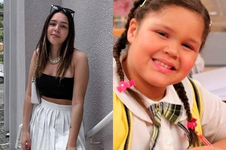 Antes alvo de bullying por conta do peso, filha de Simony surge irreconhecível - Foto: Reprodução/ Instagram e SBT/ Montagem Área VIP