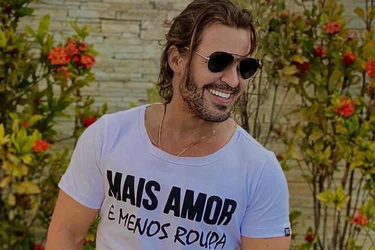 Eduardo Costa diz que namoraria garota de programa: ''Com os outros, faz negócio. Comigo, faz amor''' - Foto: Reprodução/ Instagram